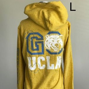 Women Victoria Secret PINK UCLA Hoodie L